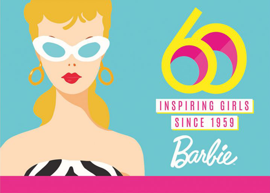 Barbie 60th anniversary 2019
