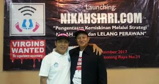 HEBOH! Launching Situs Nikahsirri.com Lelang Perawan Secara Online, Ini Tanggapan Menteri Yohana