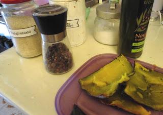 chips vegan buccia zucca croccante