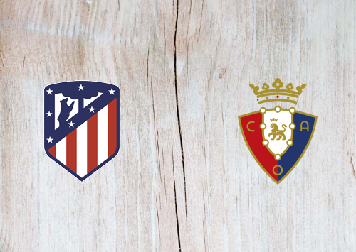 Atletico Madrid vs Osasuna -Highlights 14 December 2019