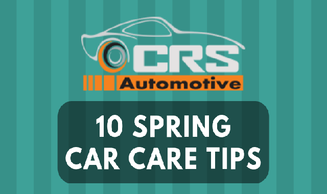 10 Spring Car Care Tips #infographic