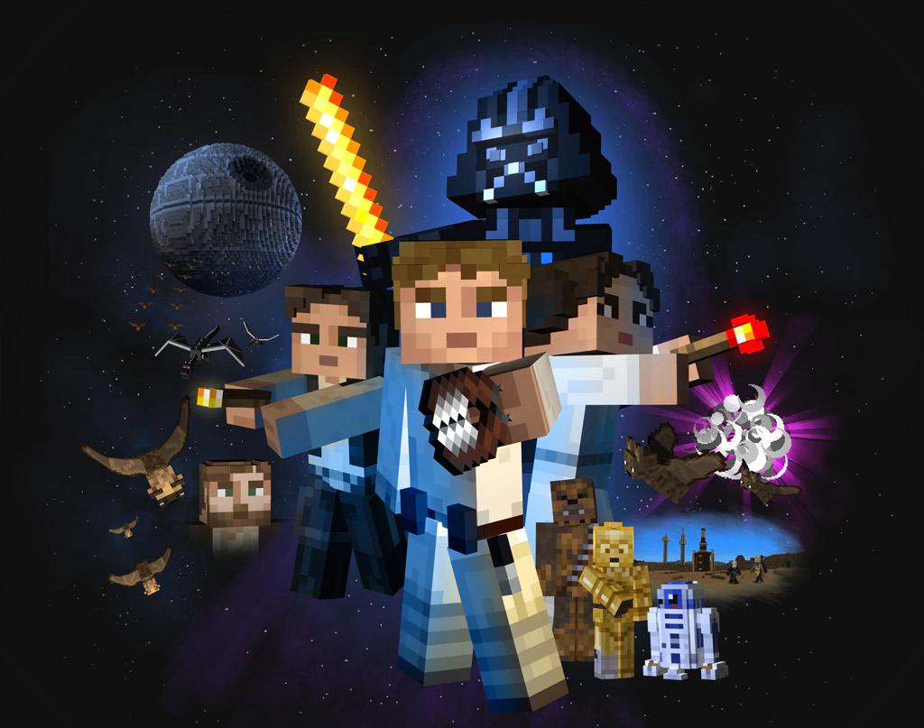 Jogador de Minecraft recria galáxia de Star Wars no game