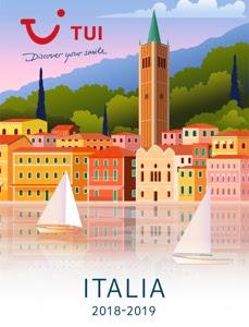 Catálogo de la mayorista de viajes TUI Royal Vacaciones Italia 2018