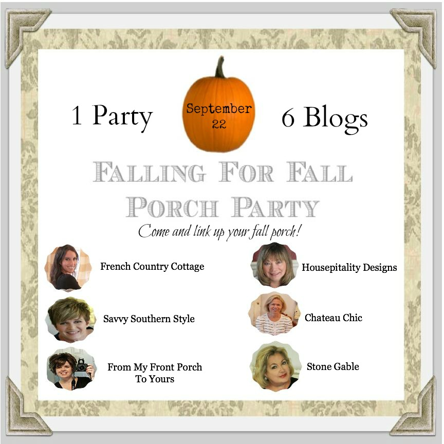 Falling For Fall Porch Party From My Front Porch To Yours