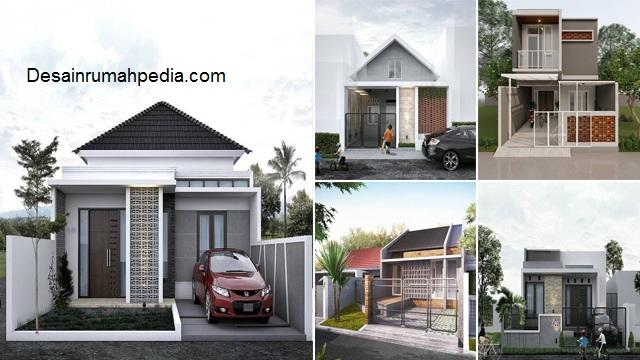 7 Gambar Rumah Minimalis Tampak Depan Lahan Sempit Desainrumahpedia Com Inspirasi Desain Rumah Minimalis Modern