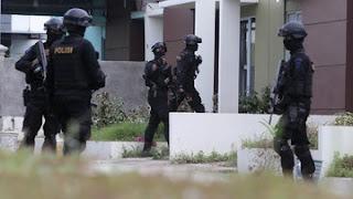 Densus 88 Amankan Guru Terduga Teroris di Binjai Sumut