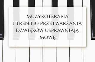 terapia mowy autyzm zespol aspergera slask muzykoterapia
