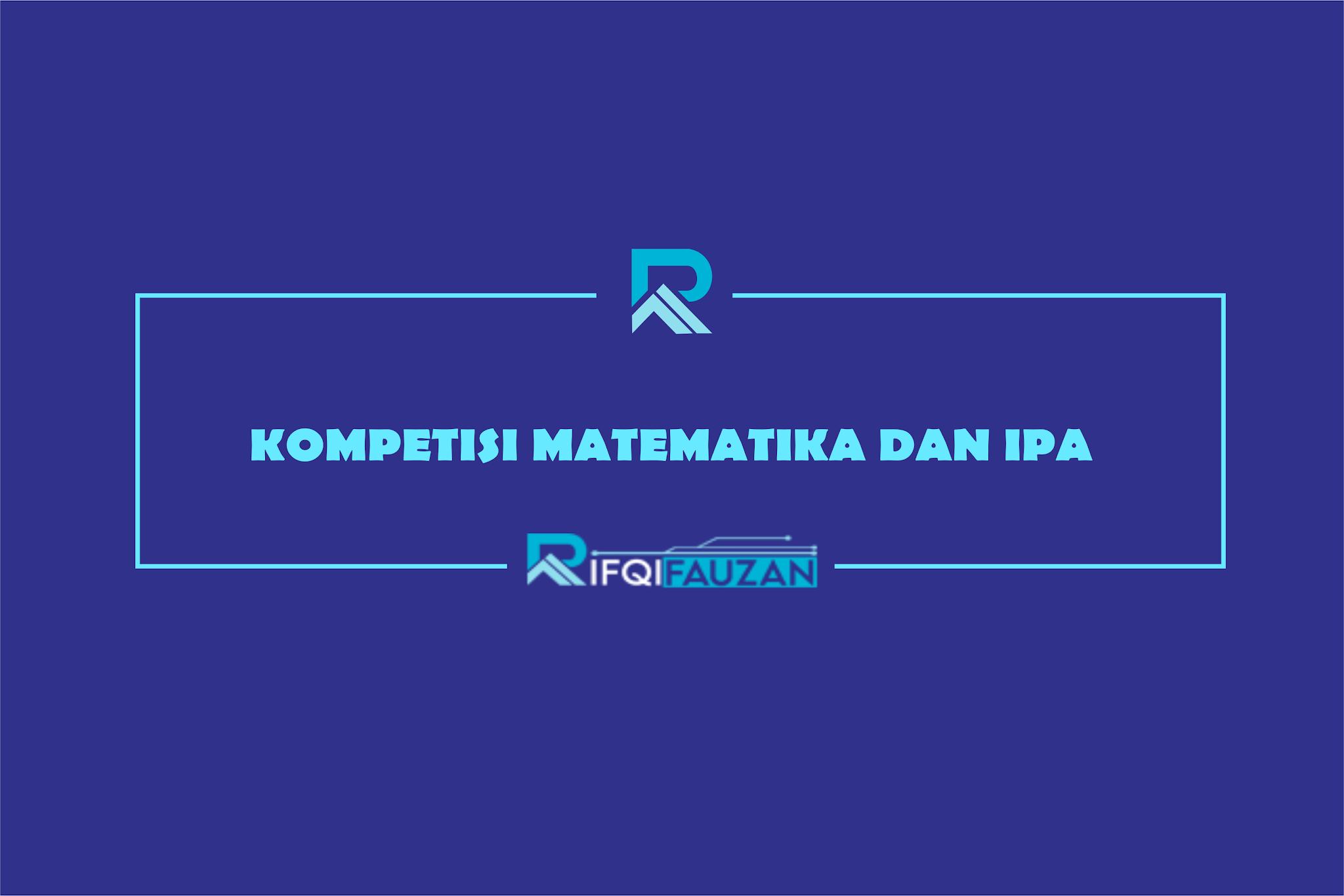 KOMPETISI ONLINE MATEMATIKA DAN IPA SD 2020