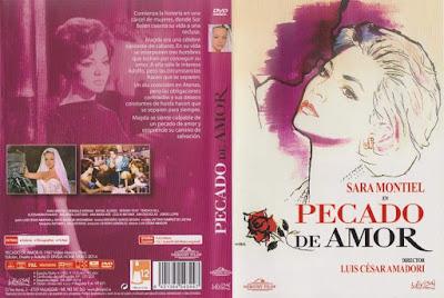 Carátula dvd: Pecado de amor (1961)