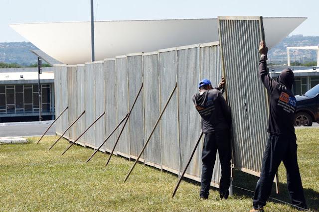 Segurança máxima em Brasília por votação do impeachment de Dilma