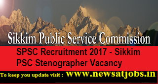 Sikkim-PSC-35-Stenographer-Vacancy