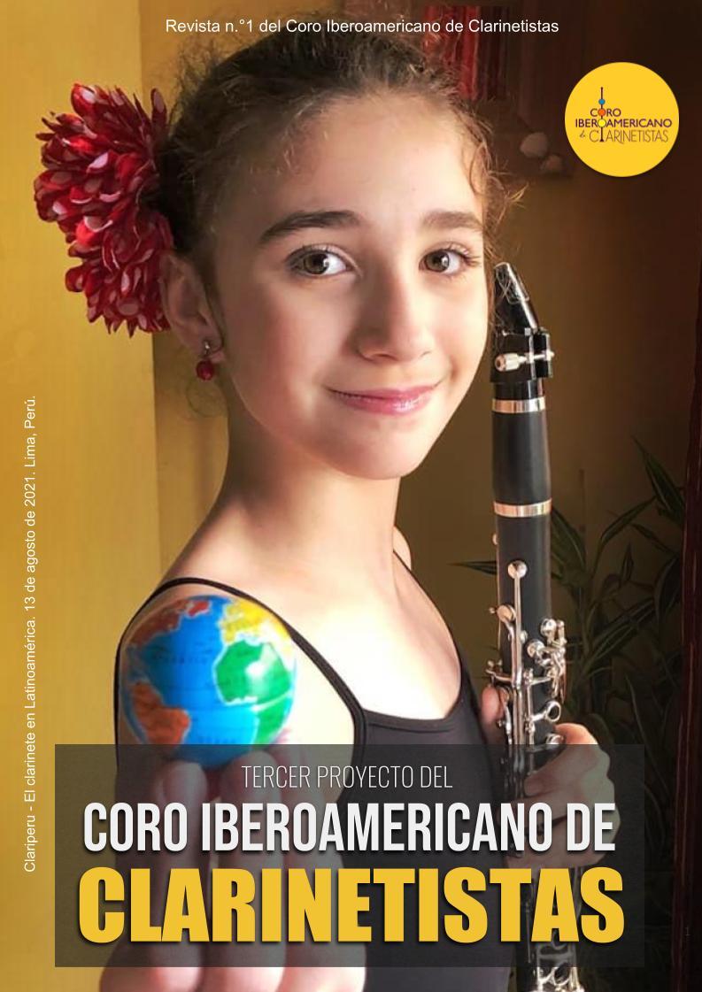 Revista del Coro Iberoamericano de Clarinetistas de Clariperu. Publicación para músicos gratuita
