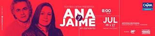 Concierto de ANA Y JAIME 50 años en Bogotá