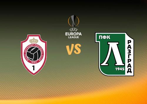 Antwerp vs Ludogorets  Resumen