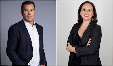 Rodrigo Bocardi e Carolina Morand apresentam novo programa diário na rádio CBN (Fotos: Amanda Rodrigues/Fabio Rossi)