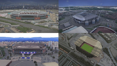 PES 2017 Exterior Update for AZ StadiumPack by PES RMD 48
