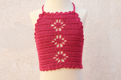 1 - Crochet Imagen Top playero a crochet y ganchillo por Majovel Crochet