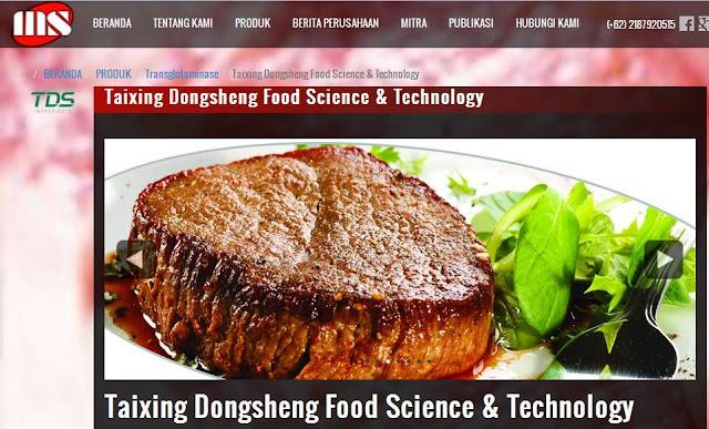 Transglutaminase Untuk Bahan Makanan Olahan