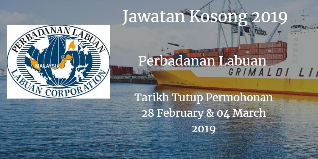Jawatan Kosong Perbadanan Labuan 28 February & 04 March 2019