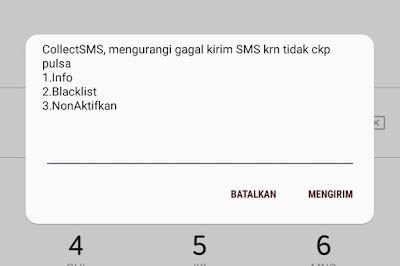 Cara NonAktifkan Pesan CollectSMS Telkomsel Pengirim dan Penerima