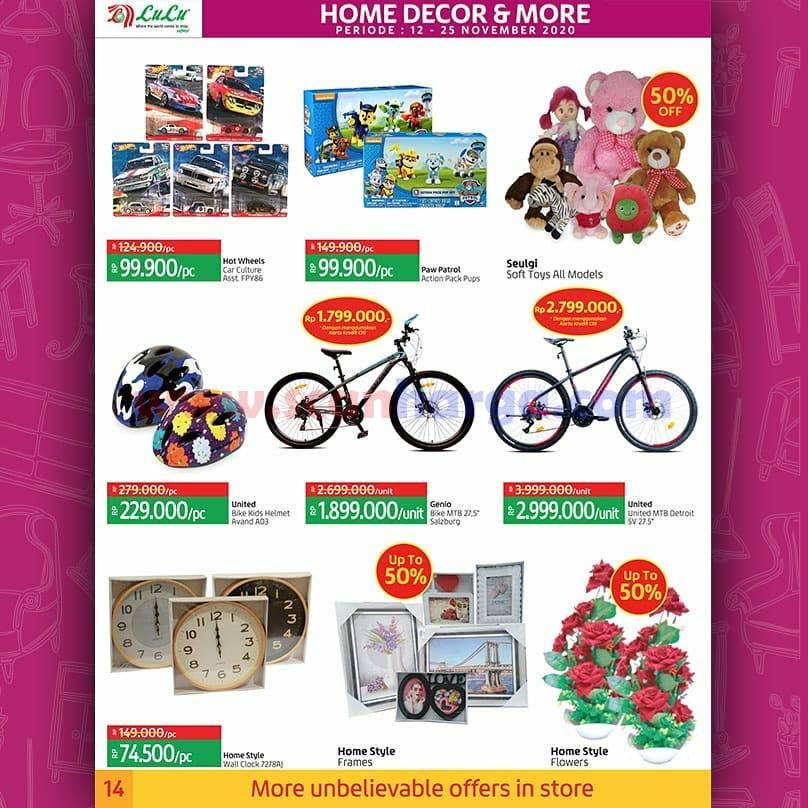 Katalog Promo LULU Supermarket 12 - 25 November 2020 14