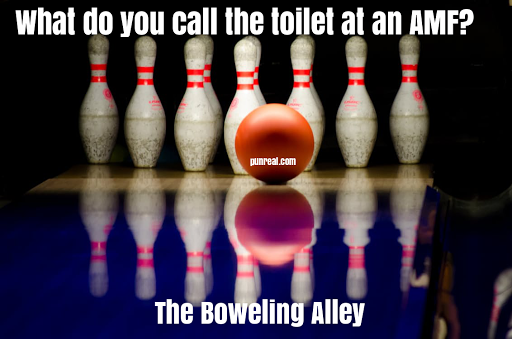 You might as well flush this bowling pun down the toilet.