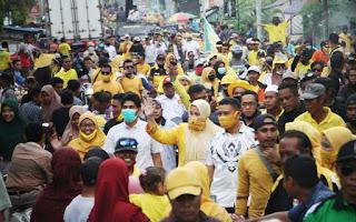 Massifnya Dukungan untuk IDP-Dahlan di Bolo dan Madapangga, Tim Optimis Menang