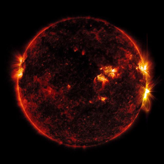 【影像故事】迷幻的太陽 SDO,NASA 耗時十年的縮時大作 - SOD 觀測站的拍攝儀器能記錄不同波長的光線