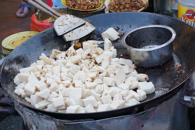 Malacca Jonker Street Night Market - Carrot Cake