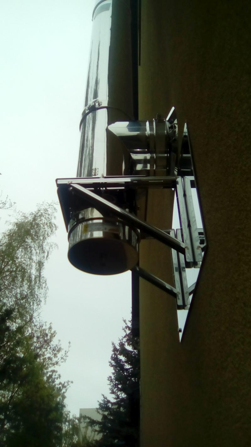 Tylko na zewnątrz Kominy i wkłady kominowe - sprzedaż montaż i serwis EV94