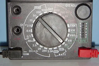What is the symbol of continuity in a multimeter