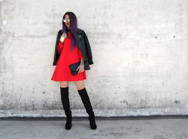 black red outfit ideas