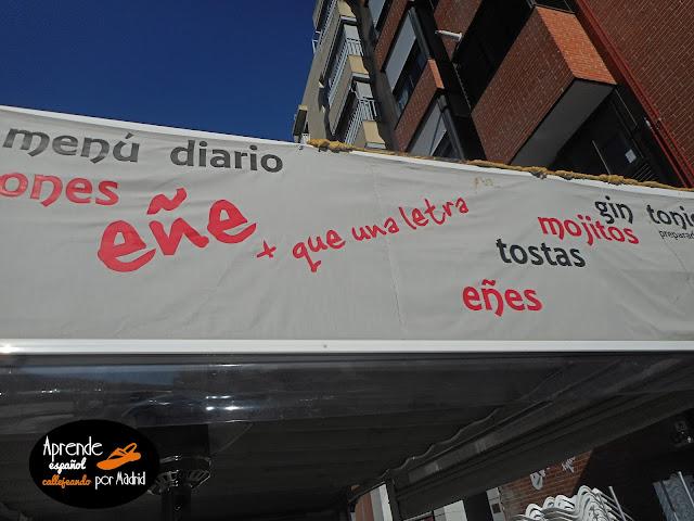 Aprende español callejeando: Más que una letra