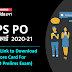 IBPS PO Score Card 2020-21 Out: IBPS PO स्कोर कार्ड  2020-21 जारी ( Direct Link to Download Your Score Card For IBPS PO Prelims Exam