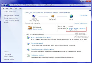 Menggunakan IP Address Dan DNS Server Otomatis