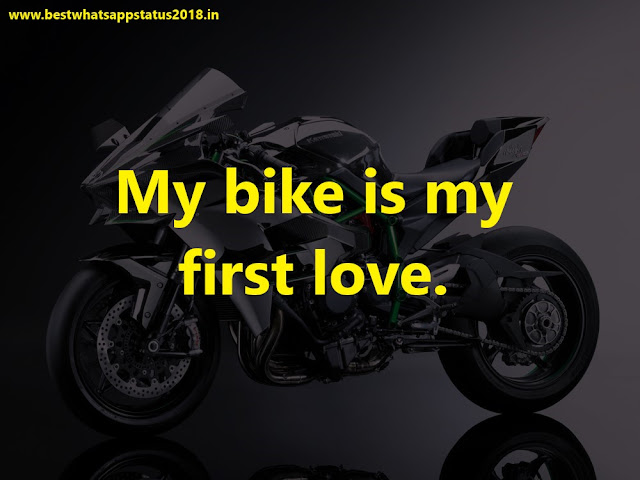 Biker Status, Quotes, Captions for Whatsapp