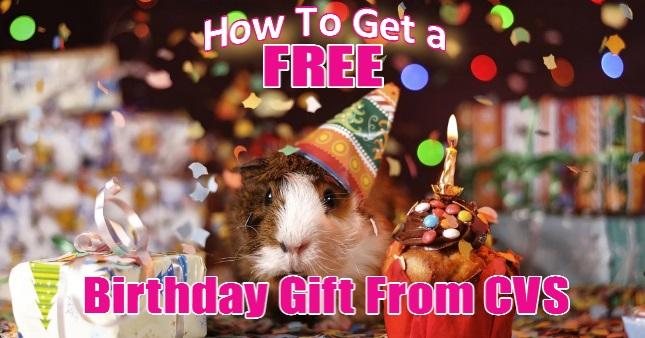 FREE Birthday Gift From CVS