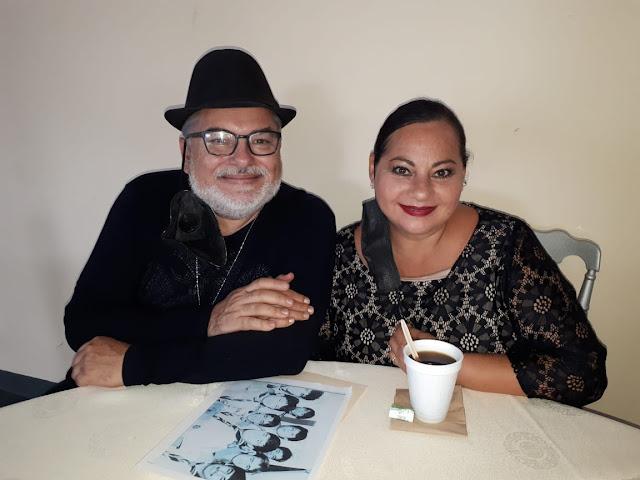 Víctor Sumohano y Lucy Gutiérrez.