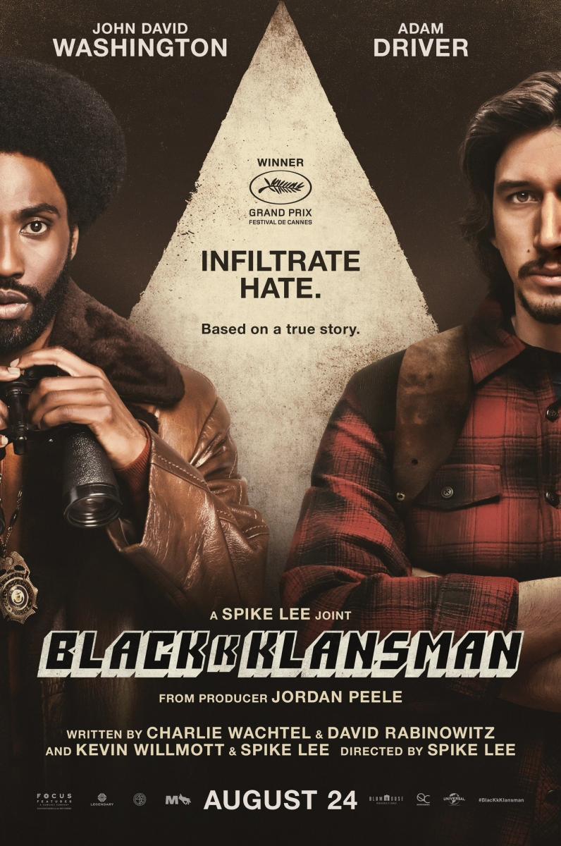 BlacKkKlansman (2018) นิโกร…นอกคอก