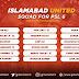 Islamabad United Squad for Pakistan Super League 2021