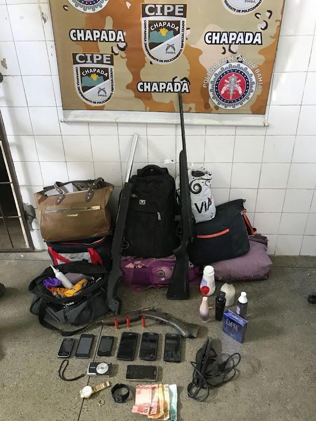 Cipe Chapada desarticula bando que assaltou ônibus na BR-116
