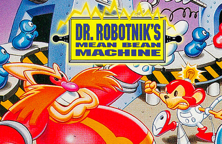 jogue dr. Robotnik Mean Bean Machine puzzle games