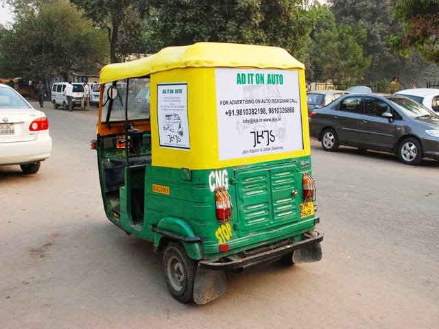 Auto Ride in Delhi