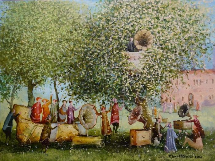 Литовский художник. Remigijus Januskevicius