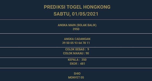 3 - PREDIKSI HONGKONG 01 MEI 2021