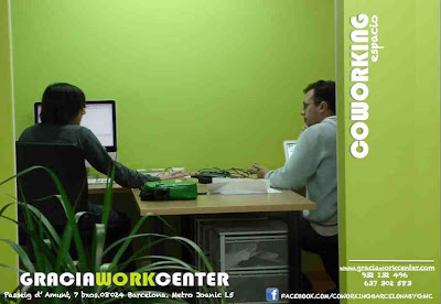 Gracia Work Center_Centro de Coworking a BARCELONA