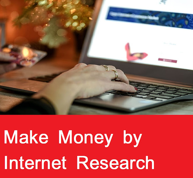 make Money By Doing Research On The Internet