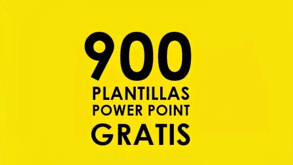 900 plantillas para power point gratis