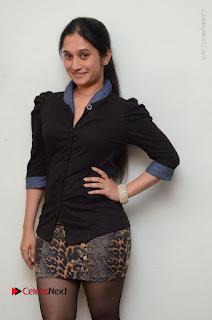 Telugu Actress Priyanka Pallavi Stills in Micro Mini Skirt at Nenosthaa Movie Song Launch at Radio City  0029.JPG