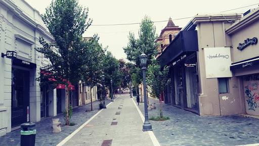 Vista de la peatonal entre calles 27 abril y caseros